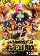 Promo One Piece Film Gold Road Show