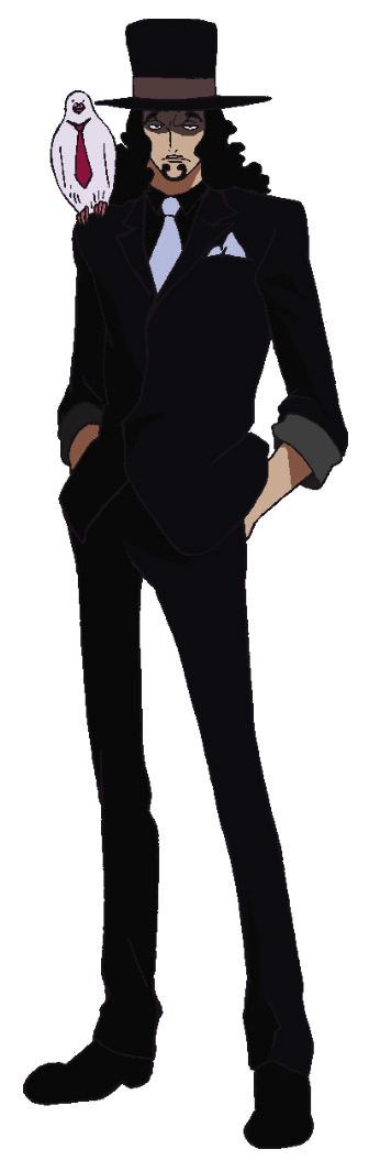 Rob Lucci Anime Concept Art