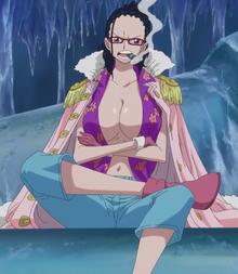 Colored Smoker in Tashigi's Body