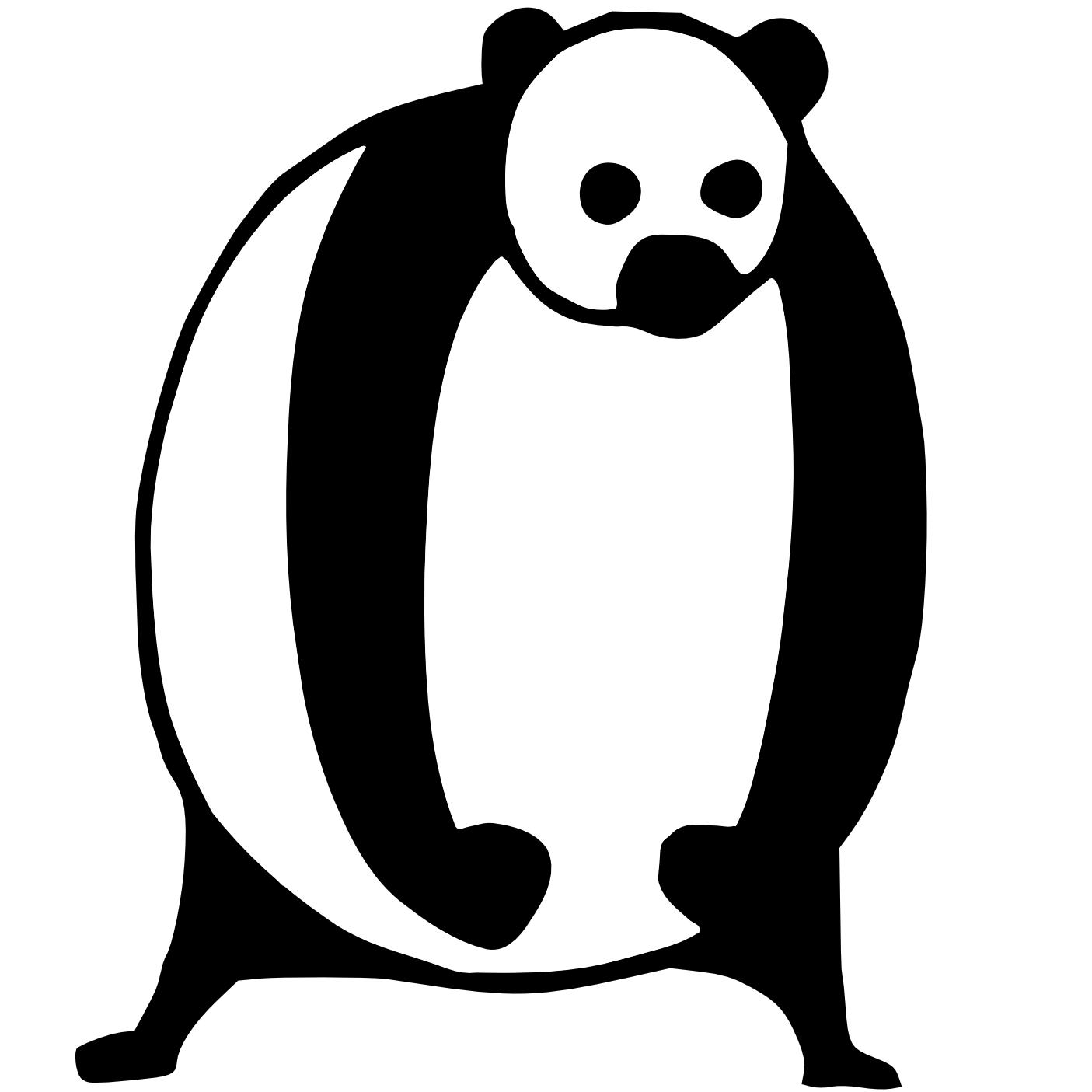 Doskoi Panda Portrait