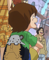Enfant avec un tee-shirt Kuma