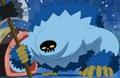 Hache d'un Blue Gorille