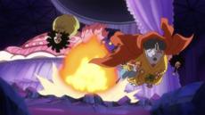 Jinbe y Nami logran rescatar a Brook