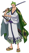 Zoro's 2nd Wano Outfit