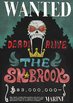 Brook's Concert Wanted Poster