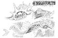 King Umi Mukade Concept Art