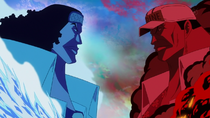 Kuzan vs. Sakazuki