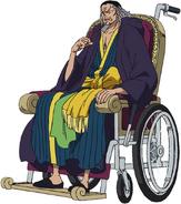 Nefertari Cobra Timeskip Anime Concept Art