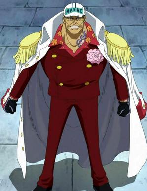 Sakazuki ammiraglio