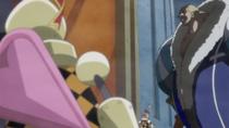 Дайфуку прибывает в Пирожный Замок