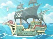 Barco Piratas Rumbar