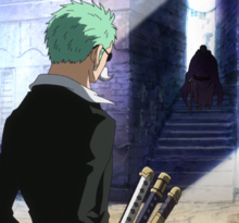 Issho Approaches Zoro