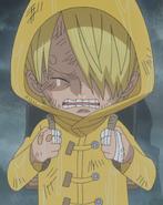 Sanji's Raincoat