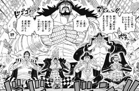 Grande Flotte du Chapeau de Paille Manga Infobox