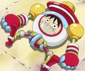 Luffy en jouet