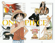 One Piece Red Collage