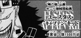 Présentation Eustass Kid Manga