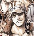 Sakazuki de joven en el manga