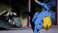 Sanji derrotado a Kuroobi