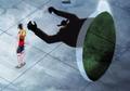 Blueno attaque Luffy par derrière