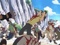 Kuro ataca a su tripulación