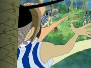 Luffy vertraut seinem Instinkt