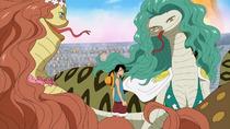 Luffy vs Boa Sisters