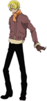 Sanji Movie 9 Second Outfit