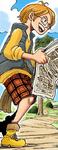 Tamanegi Digital Colored Manga Post-Timeskip