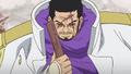 Issho desenvainando su espada