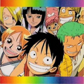 One Piece Rainbow! Official Animation Guide Book Intro Image