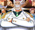 Garp en el manga a color