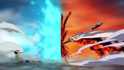 Marco vs Akainu