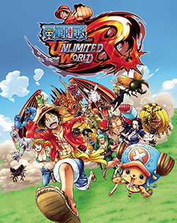 One Piece Unlimited World RED cover art