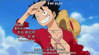 One piece opening 15 We go (vostfr)