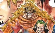 Vinsmoke Judge Manga Color Scheme