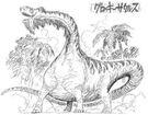 Concepto de Groggysaurus