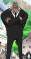 Daz Bonez en costume noir