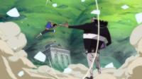 Luffy Fighting Kuma