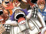 Wapol Original Manga Color Scheme