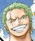 Zoro wrong eye scar