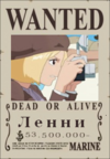 Ленни Wanted Poster