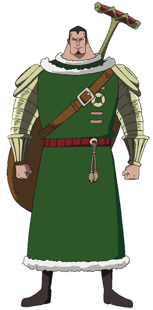 Dalton Timeskip Anime Concept Art