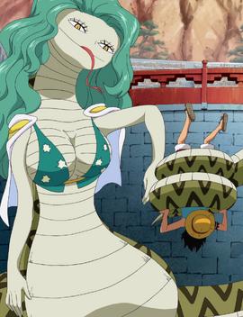 Hebi Hebi no Mi, modèle Anaconda Forme Hybride Anime Infobox