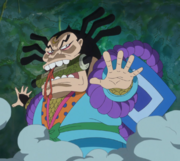 Raizo Demonstrates His Powers