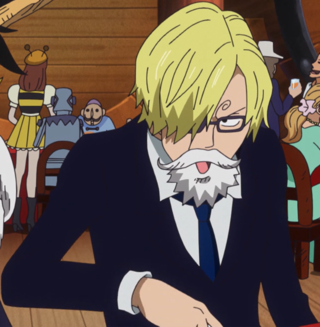 Sanjis Dressrosa Disguise In The Anime
