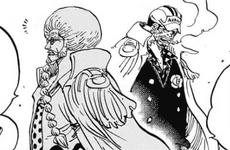 Sengoku advierte a Sakazuki