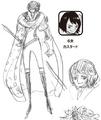 Charlotte Custard Manga Concept Art