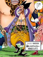 Foxy in the Digitally Colored Manga