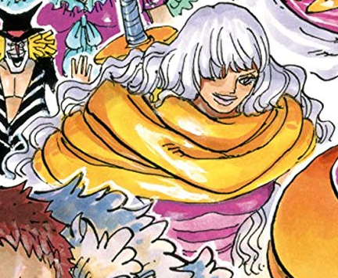 Smoothie Manga Color Scheme